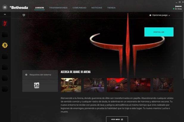 Quake 3 Arena gratis el 18, 19 y 20 de agosto. Descargalo y tenlo gratis para siempre en tu PC