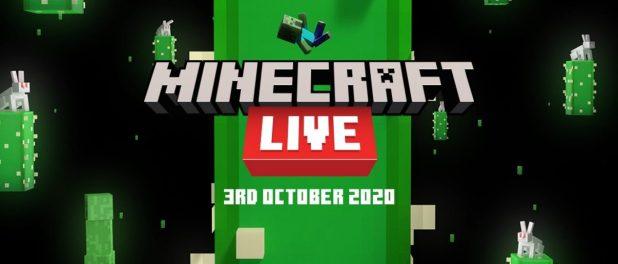 Minecraft Live regresa el 3 de octubre