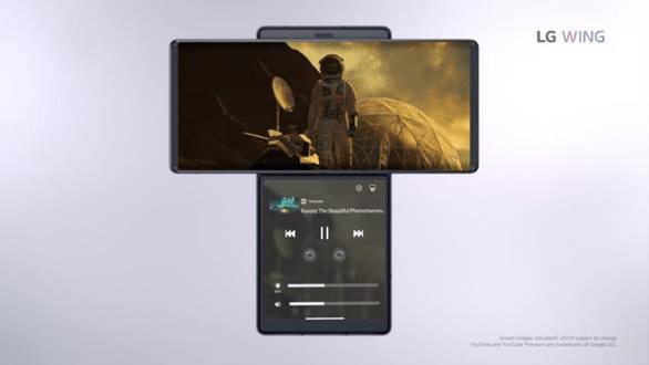 LG Electronics presenta en España LG WING