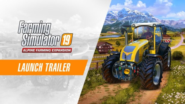 Disponible la expansión Alpine y Farming Simulator 19 Premium Edition