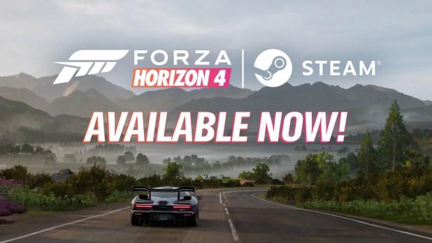 Forza Horizon 4 ya está disponible en Steam