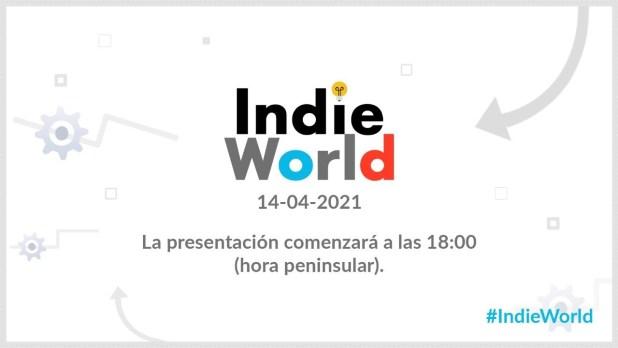 Nintendo ha anunciado una nueva presentación Indie World para el 14 de abril