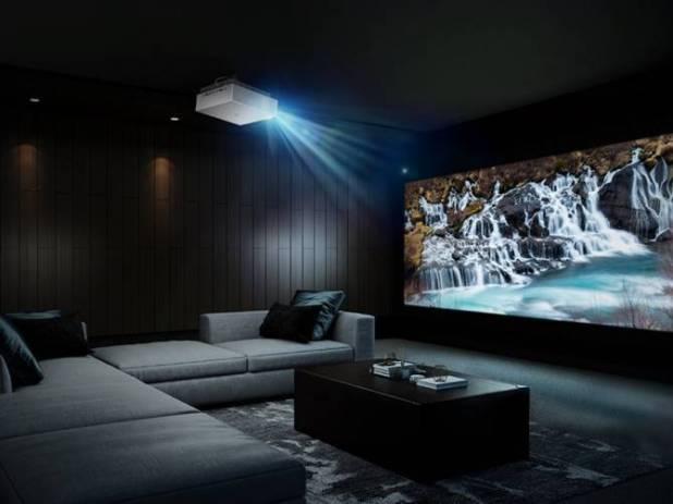 El nuevo proyector LG HU810P te lleva el cine a casa