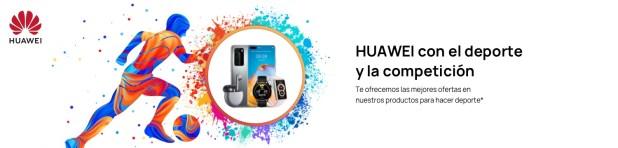 Vive el deporte con HUAWEI Sport Week y sus exclusivas ofertas de producto