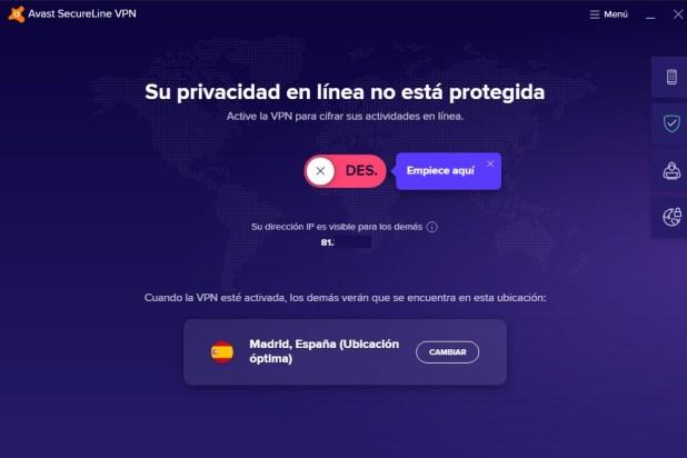 Análisis Avast SecureLine VPN