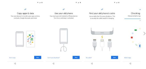 Data Restore Tool. Google prepara una app para facilitar el cambio de iPhone a Android. Herramienta de restauración de datos
