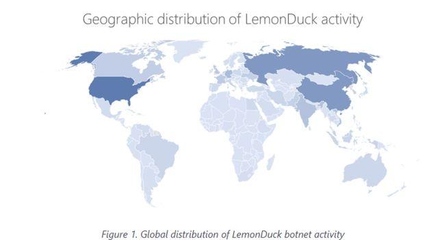 Nuevo ataque del malware LemonDuck