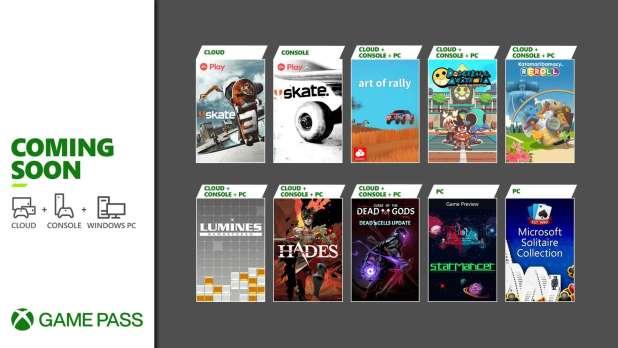 Próximamente en Xbox Game Pass: Hades, Skate, Curse of the Dead Gods y más