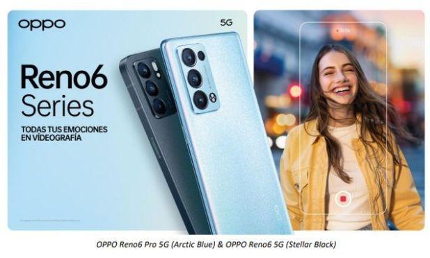 Las entrañas del móvil Reno6 Series 5G