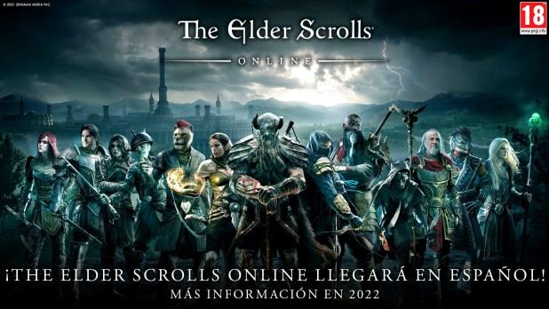 ¡The Elder Scrolls Online llegará en español!