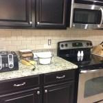 Diy Kitchen Backsplash Frills Drills
