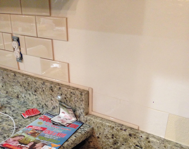 - DIY Kitchen Backsplash - Frills & Drills
