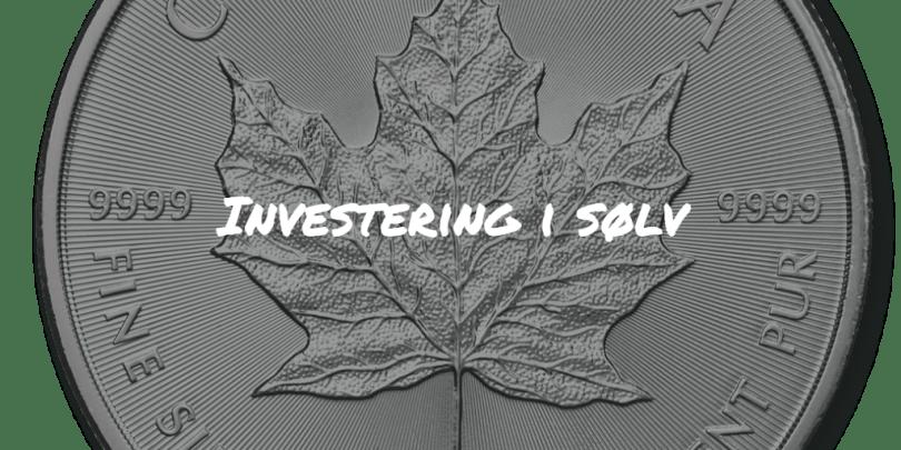 Investering i sølv Frinans