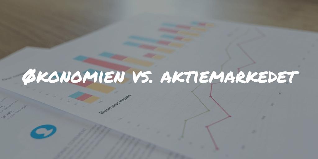 Økonomien vs. aktiemarkedet Frinans