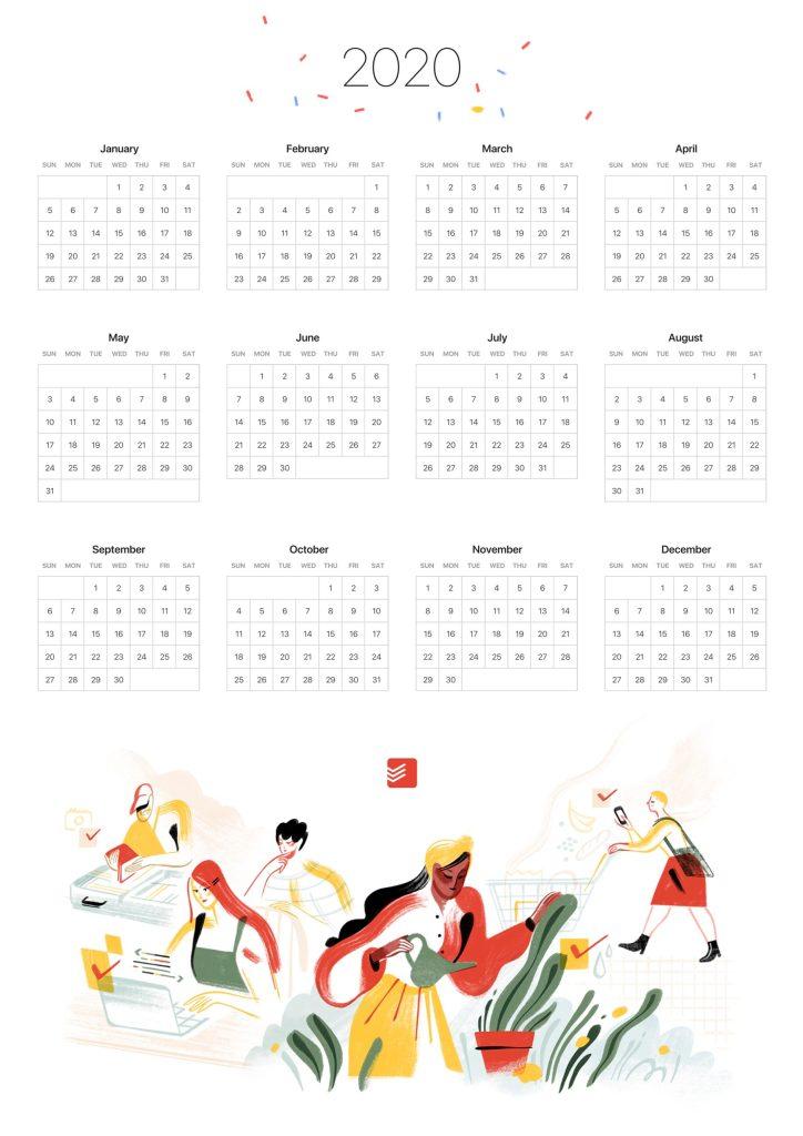 Gode vaner årskalender