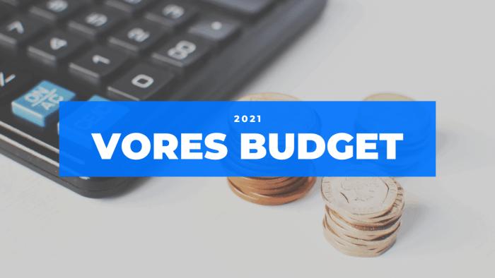 Vores budget 2021 Frinans