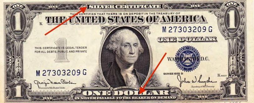 En sølvdollar Frinans