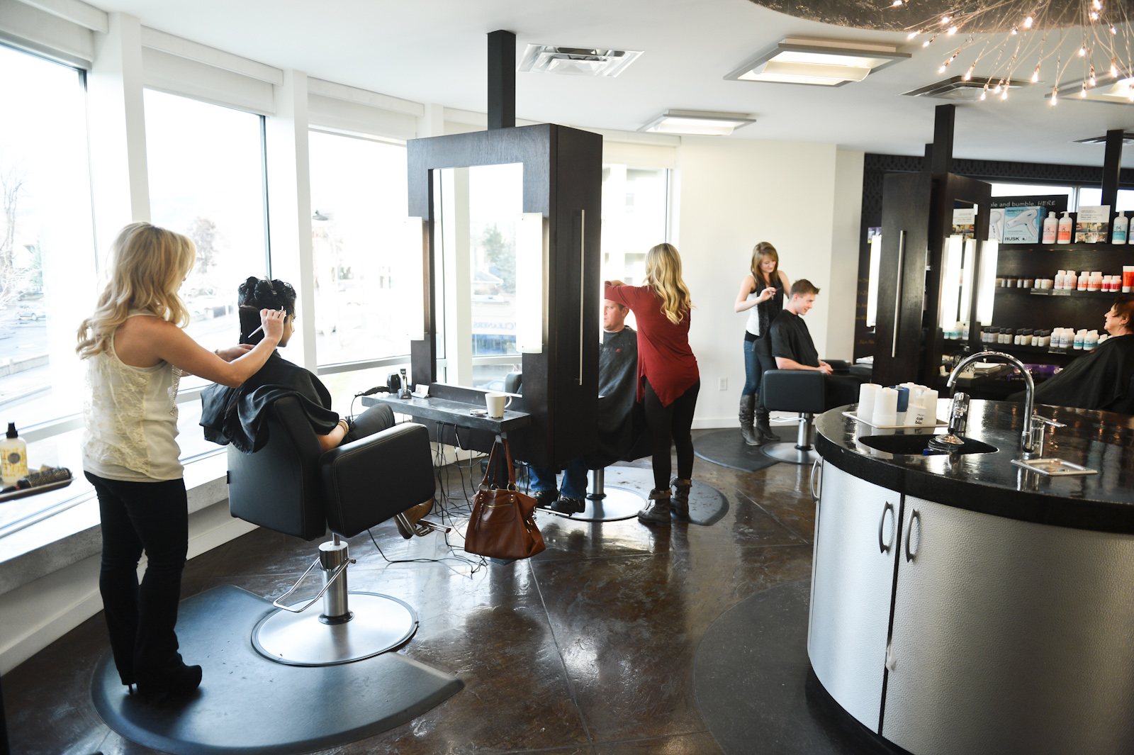Head turning hair styles fringe hair salon kelowna for A 1 beauty salon