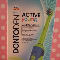 DONTODENT ACTIVE Young neu bei DM Akku Zahnbürste für Kinder