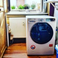 Der Hoover Waschtrockner WDWFL G413 im Alltags-Test! Perfekt für meinen Männer-Haushalt! #CandyHoover #Haushalt