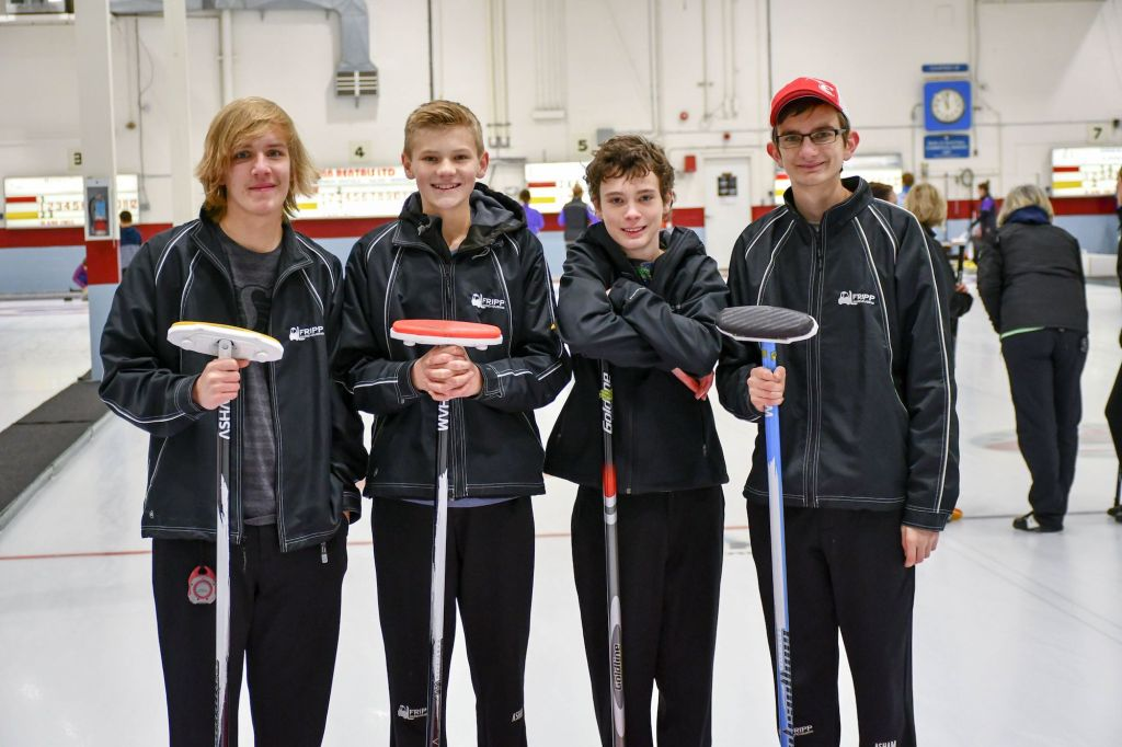 Curling Team 2018 Fripp Warehousing Kelowna