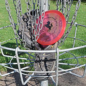 Frisbee für Ausdauersportler: Frisbiathlon.