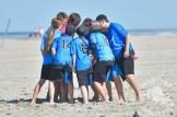 Colibri-Cheer-auf-Sand