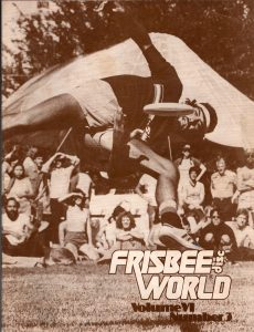 Bill on the cover of Frisbeeworld