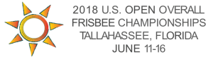 US Open Overall Frisbee Event