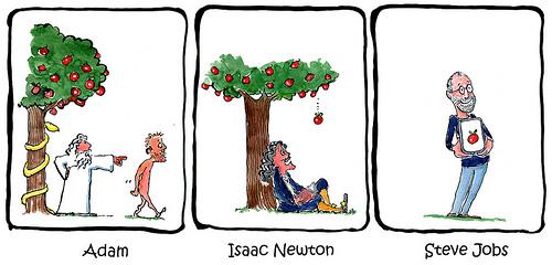 Ein Apfel veraendert die Welt (HikingArtist.com)