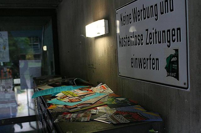 keine Werbung (Bild: daskerst/Flickr)