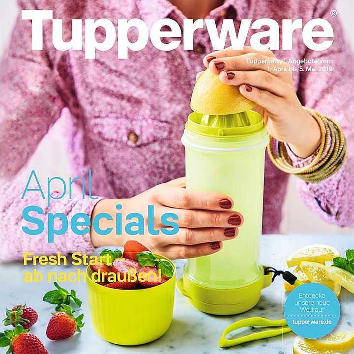 Auf in die Frische – Der April 2019 bei Tupper