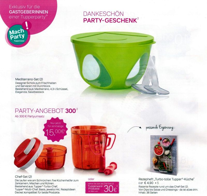 tupperware angebote november 2017