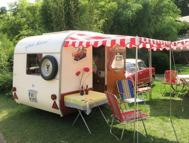 Tupperparty auf dem Campingplatu