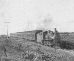 Frisco's First Train