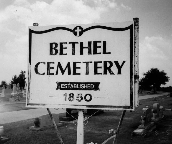 Arbor Place Dr: Bethel Cemetery And Methodist Brush Arbor