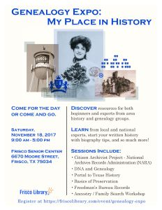 Genealogy Expo 2017