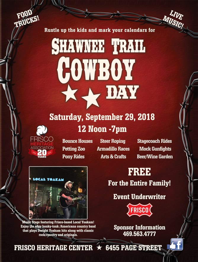 Shawnee Trail Cowboy Day 2018