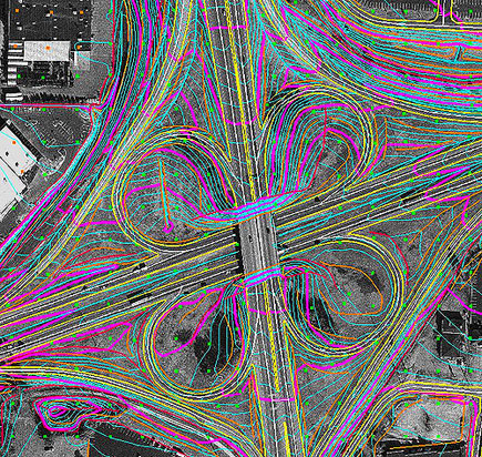 freeway cloverleaf