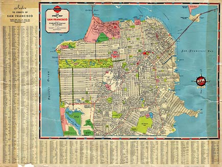 1938 san francisco map