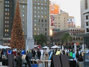 union square, december 2006