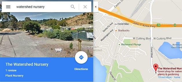 Watershed Nursery, Point Richmond, California