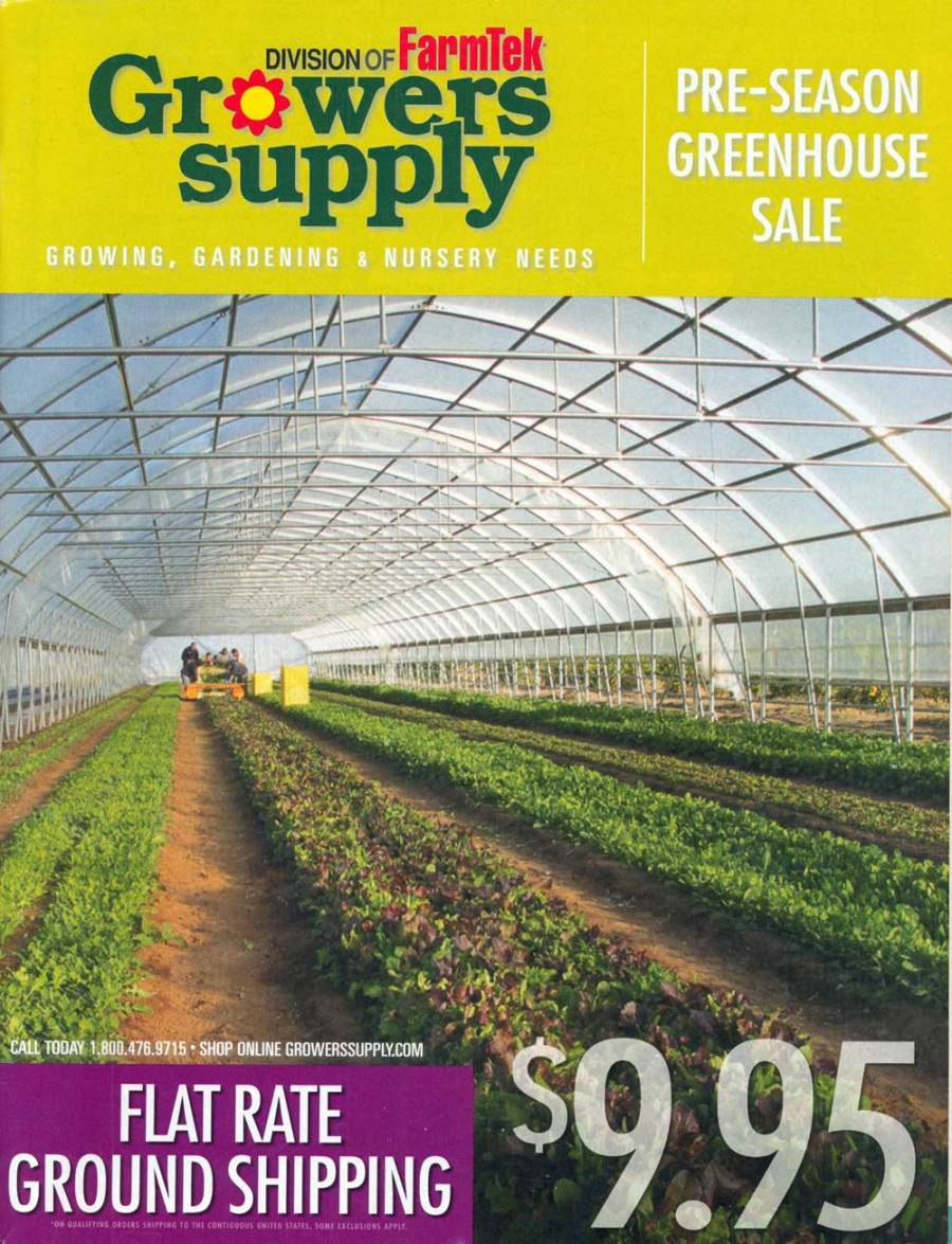 Growers Supply, Connecticut, 7.75 x 10 in., 138 pp.
