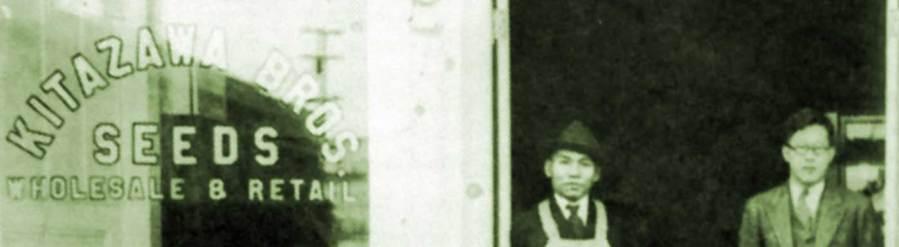Detail of Kitazawa Seed Co. catalogue cover photo.