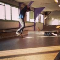 Giggs nose manual @ empireskatebuilding #frisek #frisekteam #montreux #skate #skateboarding