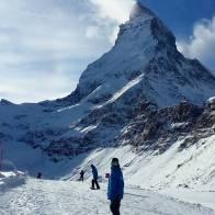 @moussafrisek & his mountain #frisek #frisekteam #snowboard #zermatt #switzerland