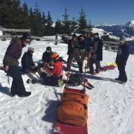 Shit happens... #frisek #frisekteam #laax #curnius #rocknroll #snowboard #snowboarding #kneehurts #damned #malediction