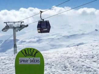 Bye #laax Shred you soon! #frisek #frisekteam #snowboard #switzerland #shred #graubünden #sprayskiers