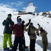 Spring session! #frisek #frisekteam #snowboard #switzerland #shred #wallis #zermatt #valais
