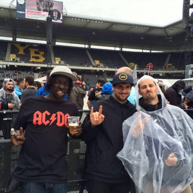 #frisek @ #acdc #rockorbust tour in bern last sunday 🔥🎸👌